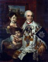 COUNT GRIGORI GRIGORIEVICH KUSHELEV AND HIS TWO SO