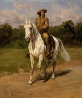 Col. William 'Buffalo Bill' , Cody Rosa Bonheur, 1