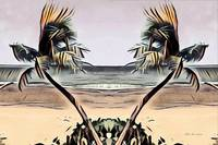 Tropical Seascape Digital Art B7717