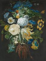 DUTCH MASTER 19th century, Bouquet of Flowers.