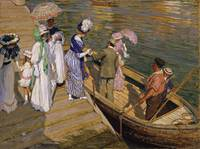 Emanuel Phillips Fox - The Ferry [c.1910-11]