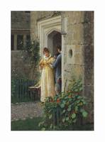 Edmund Blair Leighton (1852-1922) The request