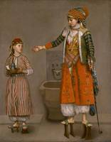 Etienne Liotard Frankish Woman and Her Servant