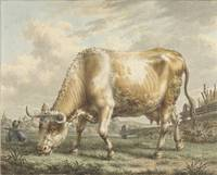Grazing Cow, Jacob Cats (1741-1799), 1789