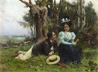 Guillermo Gómez Gil , Courting in the Country c. 1