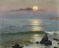 Guillermo Gomez Gil, 1862 - 1946, Moonlight