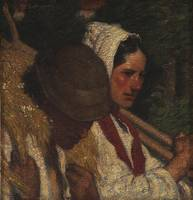 Harvesters, portraits of Ivan and Jeanne, 1900-191