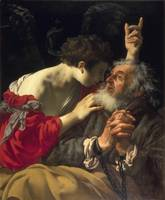 Hendrick ter Brugghen - The Liberation of Peter [1