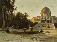 Hermann Corrodi - The Dome of the Rock, Jerusalem