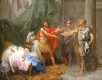 Jacques-Antoine Beaufort - The Oath of Brutus