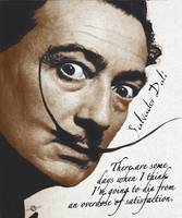 Salvador Dali Realistic Painting With Signature An