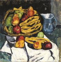 Fruit Still Life by Marsden Hartley