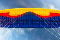 Colorful Paragliding Wing