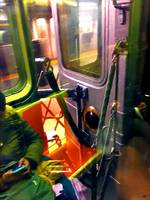 Painting On The New York City Subway