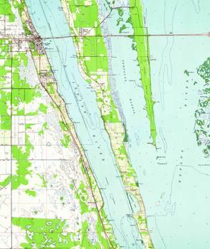 Cocoa Florida Map.Vintage Map Of Cocoa Florida 1949 By Alleycatshirts Zazzle