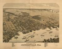 Vintage Pictorial Map of Jacksonville FL (1874)