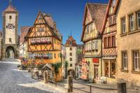 Rothenburg Morning