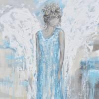 """""Angel of Joy"" - Angel Painting"" by ChristineKrainock"
