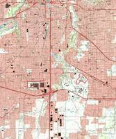 Fort Worth Texas Map (1995)