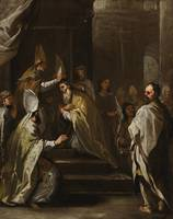 Luca Giordano NAPLES 1634 - 1705 THE CONSECRATION