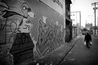 Snoopy's Alley (B&W)