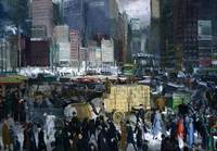 New York 1911 Mean Streets by George Bellows
