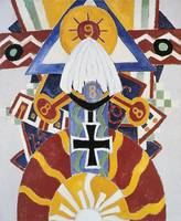 Painting Number 49, Berline by Marsden Hartley