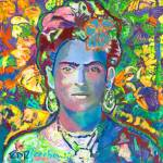 """Purple Frida"" by RDRiccoboni"