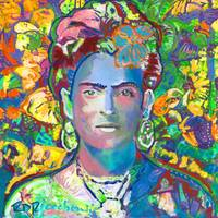 Purple Frida