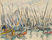 PAUL SIGNAC (1863 Paris 1935) Constantinople Caico