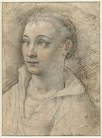 Portrait of Jane Doe, Federico Zuccaro, 1550 - 160