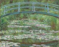 The Japanese Footbridge (Water Lilies)