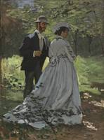 Bazille and Camille - Claude Monet