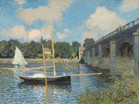 The Bridge at Argenteuil - Claude Monet