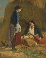 Robert Carrick 1819-1904 WEARY LIFE