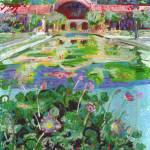 Lily Pond Balboa Park San Diego California by RD Riccoboni