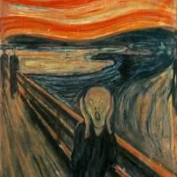 """The Scream by Eduard Munch"" by neilepi"