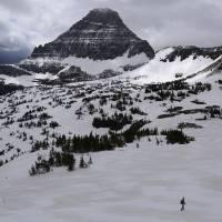Late Spring - Glacier National Park by Roger Dullinger