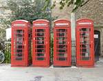 4 Red Booths by M White