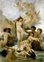 Birth of Venus by William Bouguereau. The 1879
