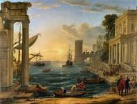 Claude Lorrain The Embarkation Of The Queen of She