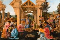 Sandro Botticelli - The Adoration of the Magi  147