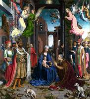 Jan Gossaert Adoration Of The Kings c1510