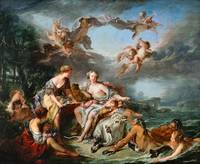 François Boucher - The Rape of Europa, 1747