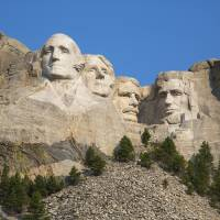 Mount Rushmore by Roger Dullinger