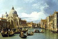Canaletto – The Entrance to the Grand Canal, Venic
