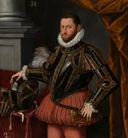 SÁNCHEZ COELLO, ALONSO (MANNER OF) Ca. 1580. Portr