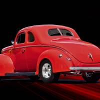 """""""1940 Ford Coupe Rear"""" by FatKatPhotography"""