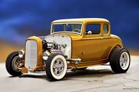 1932 Ford Five-Window 'Midas Touch' Coupe II