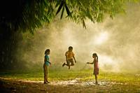 Jump Rope In The Park, Indonesia